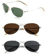 Aero 57 Polarized Metal Sunglasses