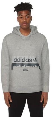 adidas Reveal Your Voice Pullover Fleece Hoodie Sweatshirt - Grey