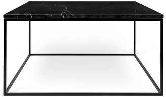 """Temahome Gleam 30""""x30"""" Marble Coffee Table"""