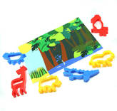 The Dotty Dough Factory Jungle Play Mat And Dough Cutters