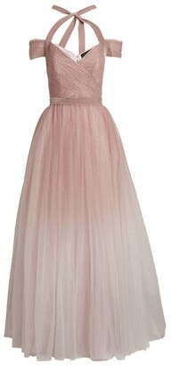 Jenny Packham Tie-Detail Cindy Gown