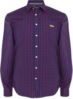 Thomas Pink Thomas Pink Fletcher Check Classic Fit Button Cuff