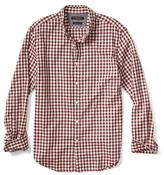 Banana Republic Grant-Fit Luxe Flannel Small Gingham Shirt