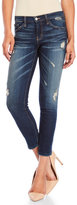 Flying Monkey Destruct Cropped Skinny Jeans