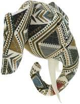 Fiona Walker Pattern Elephant Head Wall Decor