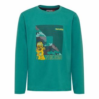 Lego Wear Boys' Lego Ninjago LWSIAM b Longsleeve T-Shirt