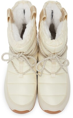 The North Face Off-White Thermoball Lace-Up Ankle Boots