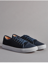 Autograph Leather Lace-up Trainers