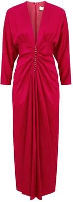 Racil Rita Ruched V-Neck Dress