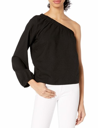 Lucca Couture Women's Zoe One Shoulder Top