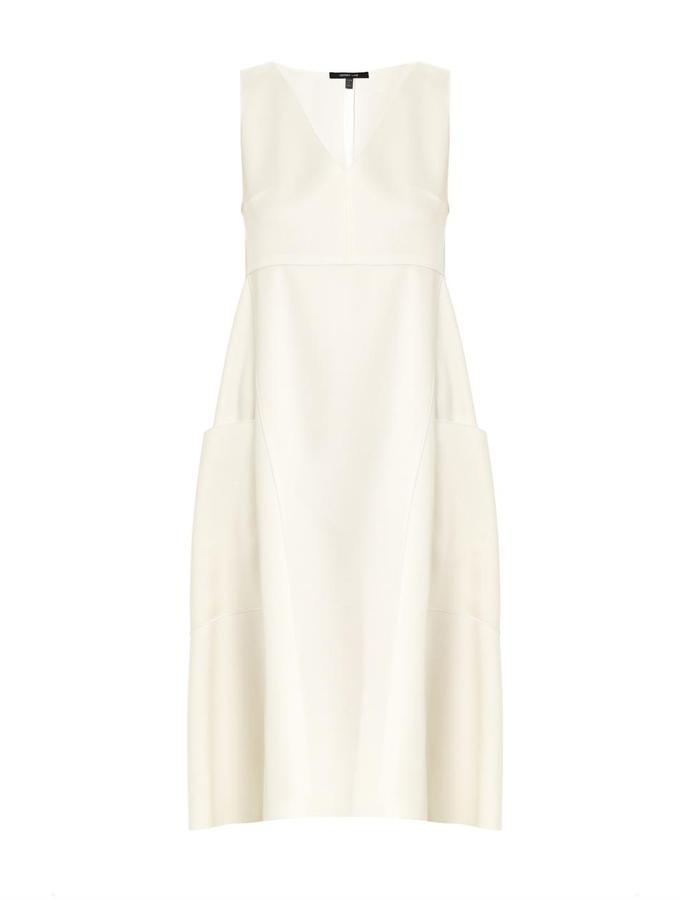 Derek Lam Satin apron dress