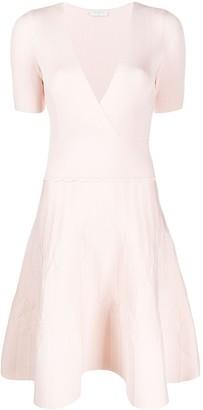 Sandro Paris Esmera wrap style dress