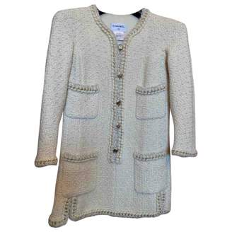 Chanel Beige Tweed Dresses