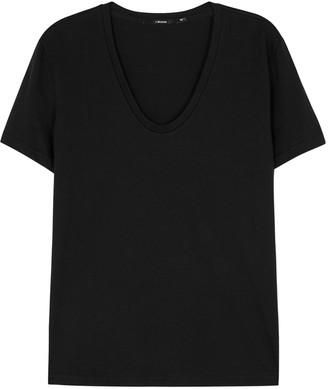 J Brand Johnny white Pima cotton T-shirt