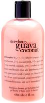 philosophy Strawberry Guava Coconut 16-Oz. 3-in-1 Shampoo Shower Gel & Bubble Bath
