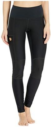 Fjallraven Abisko Trail Tights (Dark Garnet) Women's Outerwear