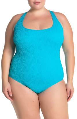 Athena Wave After Wave One-Piece Swimsuit (Plus Size)