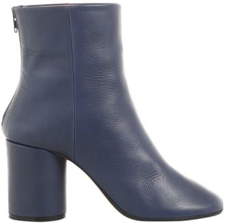 Maison Margiela \N Navy Leather Boots