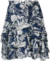 Just Cavalli floral print skirt