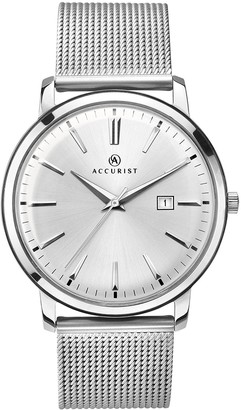 Accurist Unisex-Adult Analogue Classic Watch with Stainless Steel Strap 7209.01