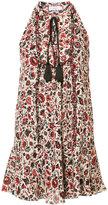 A.L.C. floral print sleeveless dress - women - Silk/Polyester - 2