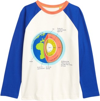 Boden Kids' Glow in the Dark Earth's Core Graphic Tee