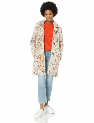 Steve Madden Women's Wool Fashion Coat