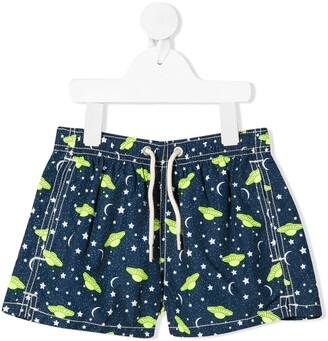 MC2 Saint Barth UFO print swim shorts