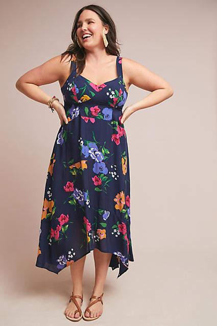 Maeve Vivienne Maxi Dress