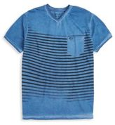 Buffalo David Bitton Striped V-Neck Tee