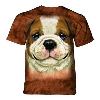The Mountain Unisex-Adults Bigface Bulldog Puppy