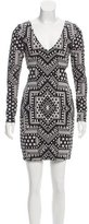 Mara Hoffman Cutout Patterned Dress