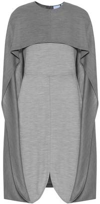 Burberry Wool-jersey midi dress