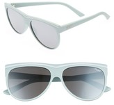 Quay Women's Hollywood Nights 62Mm Sunglasses - Black/ Silver
