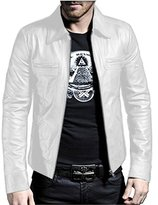 Laverapelle Men's Genuine Lambskin Leather Jacket - 1510200 - Extra Small