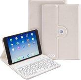 COO iPad Mini Case With Wireless tooth Keyboard for Apple iPad Mini 1/2/3/4, PU Leather