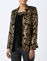 Monsoon Scarlet Sequin Jacket