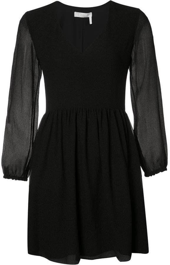 Chloé seersucker dress