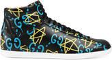 Gucci Men's GucciGhost high-top sneaker