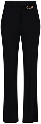 Versace Safety-Pin Detailed Trousers