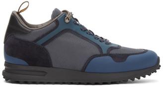 Dunhill Blue Radial Runner Sneakers