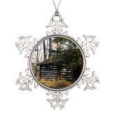 Bang Angel Xmas Trees Decorated Cabin at the Pa Grand Canyon -Leonard Harrison Pk Decor Christmas