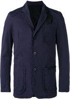 Sacai lightweight jacket - men - Cotton/Nylon/Cupro/Wool - 2