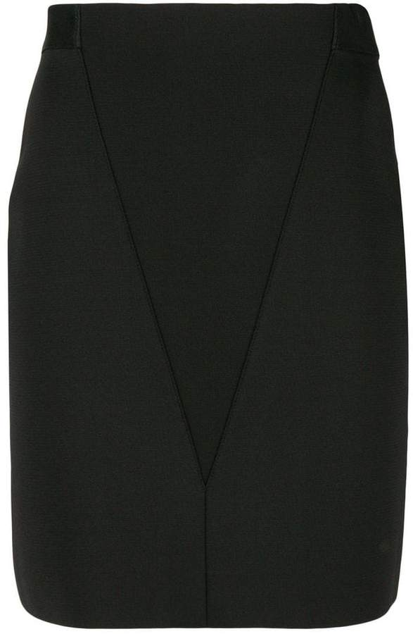 Givenchy v-front pencil skirt