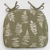 Food NetworkTM Sage Leaf Chair Pad