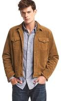 Gap Suede trucker jacket