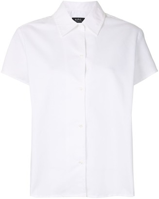 A.P.C. Marina short-sleeved shirt