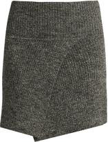 Etoile Isabel Marant Estelle ribbed-knit mini skrit