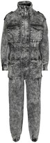 Thumbnail for your product : Norma Kamali Turtle denim jumpsuit