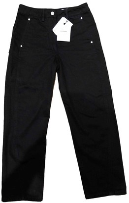 Lemaire Black Cotton Jeans for Women
